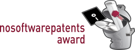 nosoftwarepatents-award